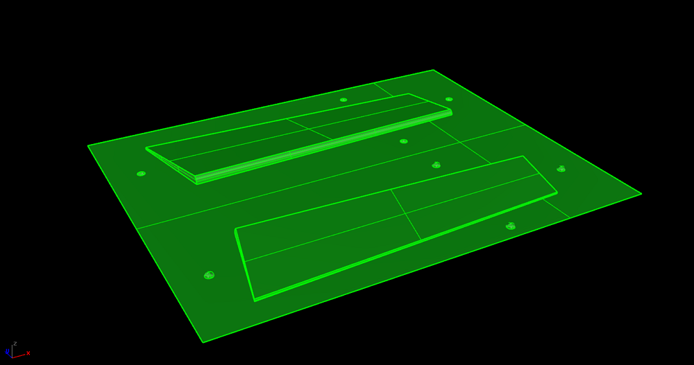 Rhino V5 3D QR als STL gespeichert